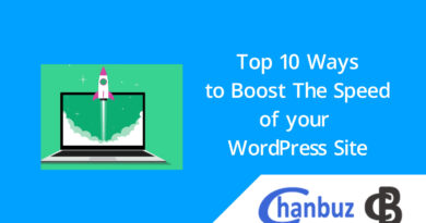Top 10 Ways to Boost The Speed of your WordPress Site